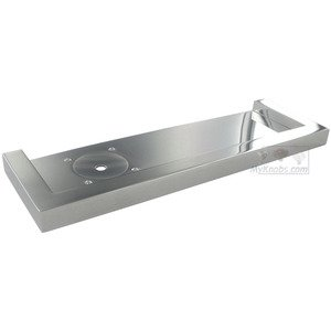 "Linnea Hardware - Manhattan 10 5/8"" Shampoo Tray in Polished Stainless Steel"