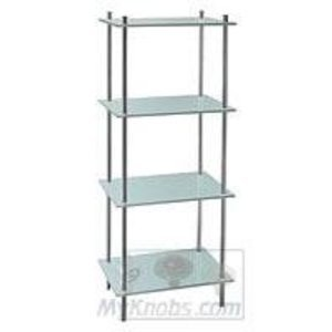smedbo bath accessories outline bathroom line free standing bathroom 4 frosted glass shelf unit in polished - Bathroom Accessories Glass Shelf
