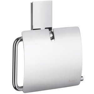 Smedbo Bath Accessories - Pool Toilet Paper Holder with Lid in Chrome