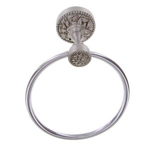 "Vicenza Bath Accessories - San Michele 6 1/4"" Towel Ring"