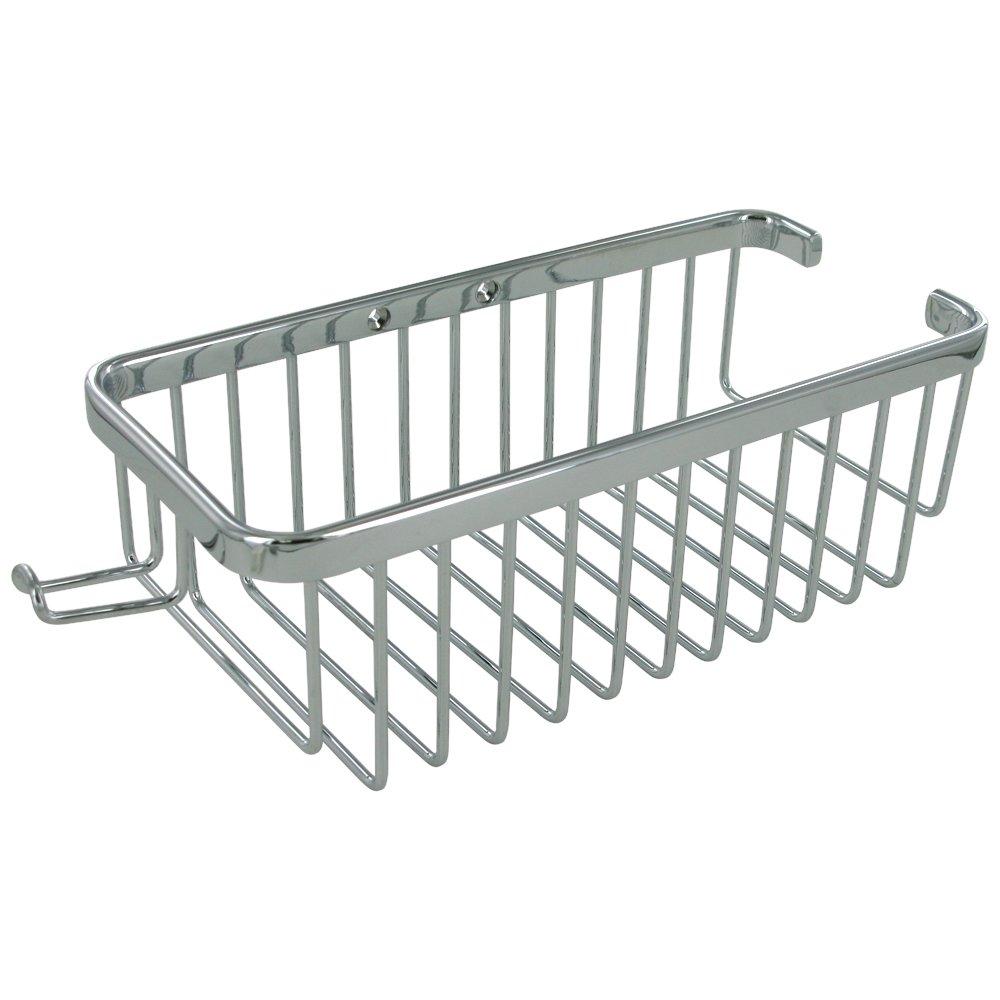 BathFashion.com Offers: Deltana DEL-90839 Bath,Shower Basket Chrome ...