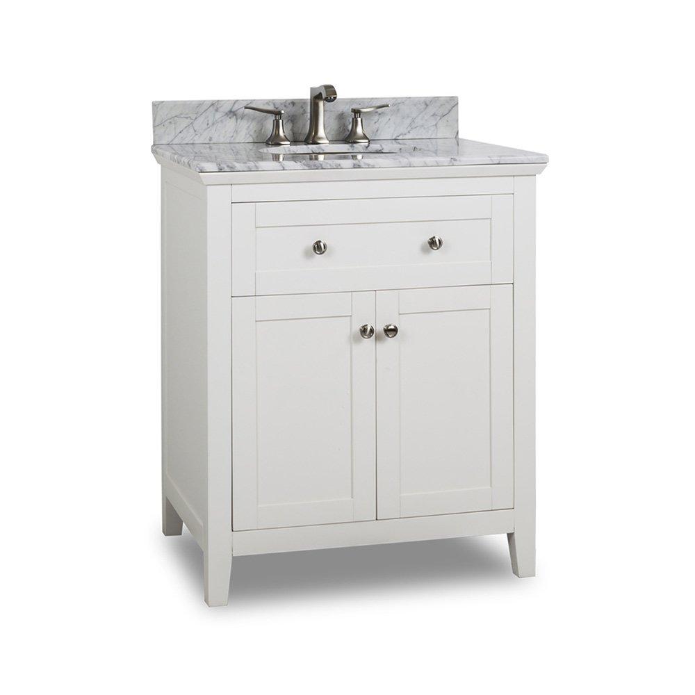 Offers Hardware Resources Hr 291016 Bath Vanity White Jeffrey Alexander Large
