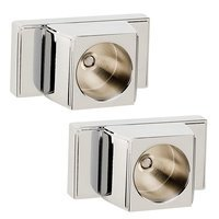 Alno Inc. Creations - Arch - Shower Rod Brackets (Sold by the Pair) in Polished Chrome