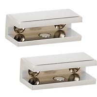 Alno Inc. Creations - Arch - Shelf Brackets Only (Sold by the pair) in Polished Chrome