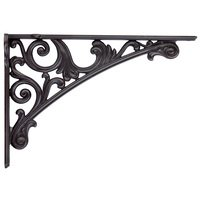 Bosetti Marella - Moderno Cabinet Hardware - Fixed Shelf Bracket in Oil Rubbed Bronze
