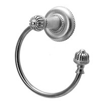 Carpe Diem Hardware - Cricket Cage - Towel Ring Right in Cobblestone