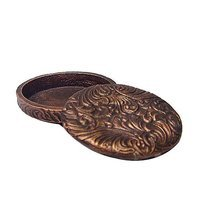 Carpe Diem Hardware - Oak Hollow Western - Trinket Box in Cobblestone