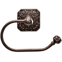 Carpe Diem Hardware - Juliane Grace - Right Tissue Holder with Swarovski Elements in Cobblestone with Crystal