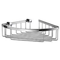 "SMEDBO - Sideline Shower Baskets - Corner Basket 6 1/2"" in Polished Chrome"