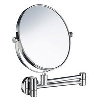 "SMEDBO - Outline Bathroom Line - Bathroom Line Shave / Make-Up Mirror 15"" 5X Magnification in Polished Chrome"