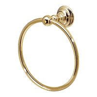 "Valsan - Kingston - 6"" Small Towel Ring in Chrome"