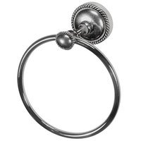 Vicenza Hardware - Equestre - Towel Ring in Satin Nickel